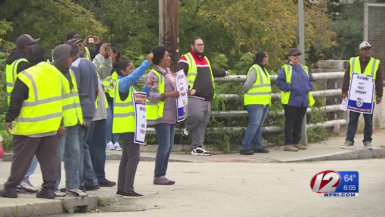 Day 5 of the Providence bus driver strike