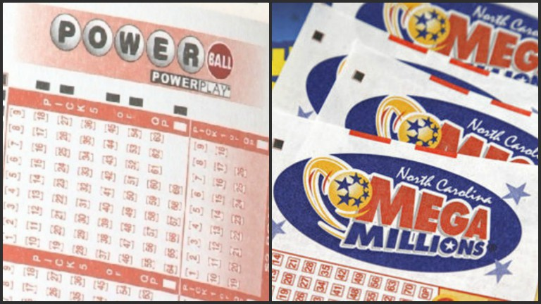 Powerball Mega Millions lottery tickets