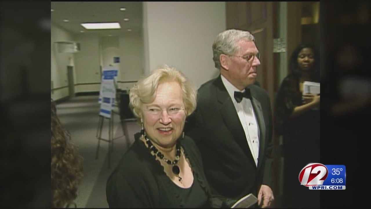 Former RI first lady laid to rest