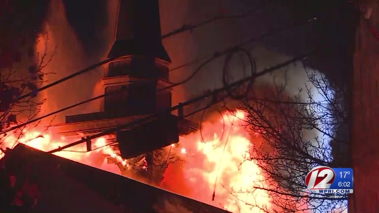 Pastor: church damaged by fire will continue on