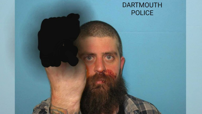 New Bedford Man arrested for OUI after crashing into utility