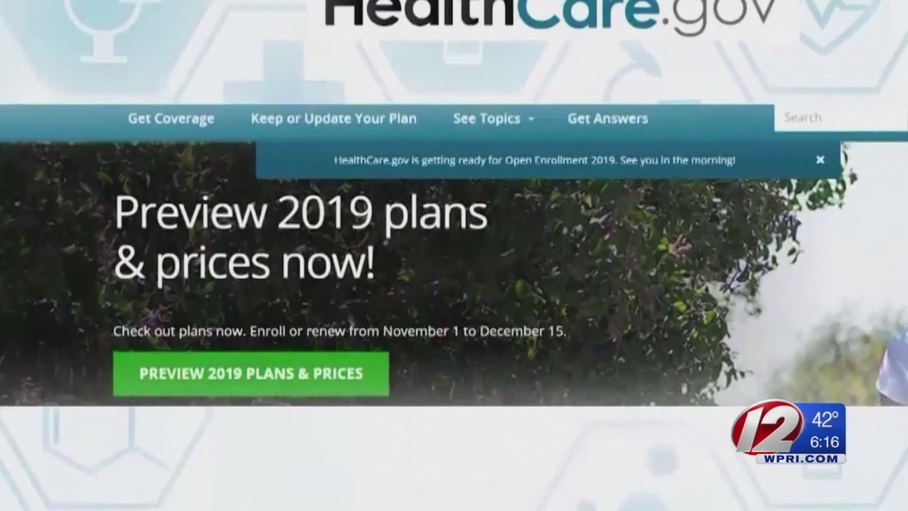 Monday is the deadline to get health insurance through HealthSource RI