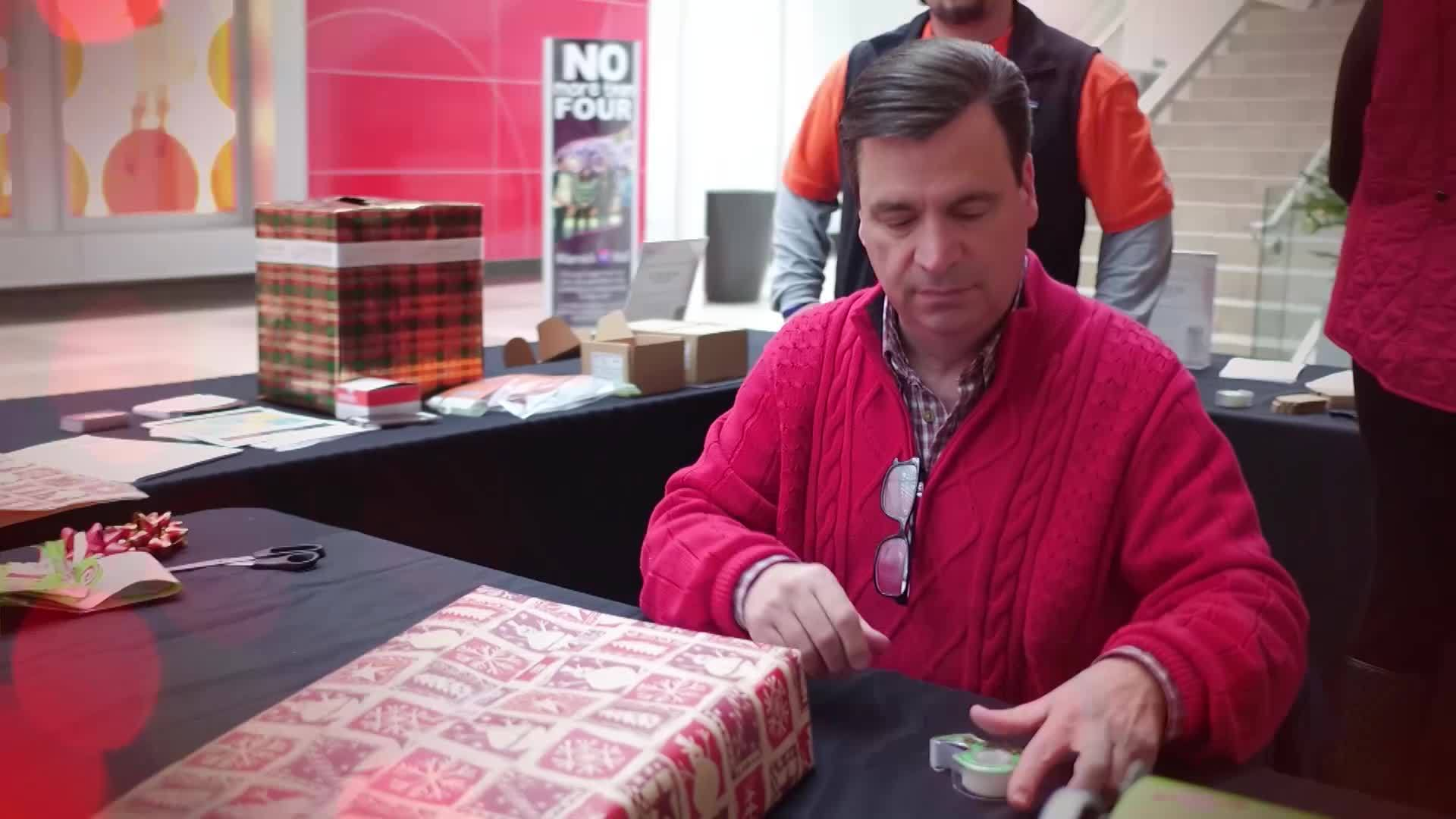 Wrapping It Up For Charity event raises $1K