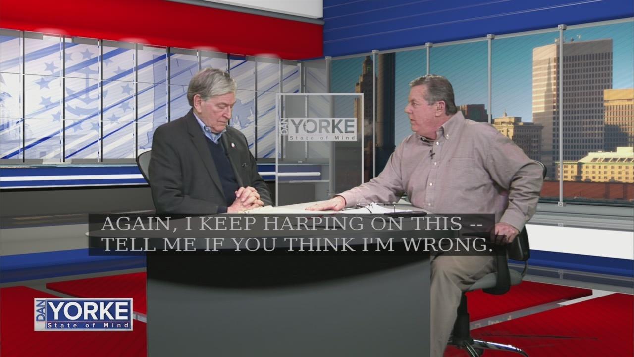 1/17: Gary Sasse talks Governor Raimondo's education proposals on State of Mind
