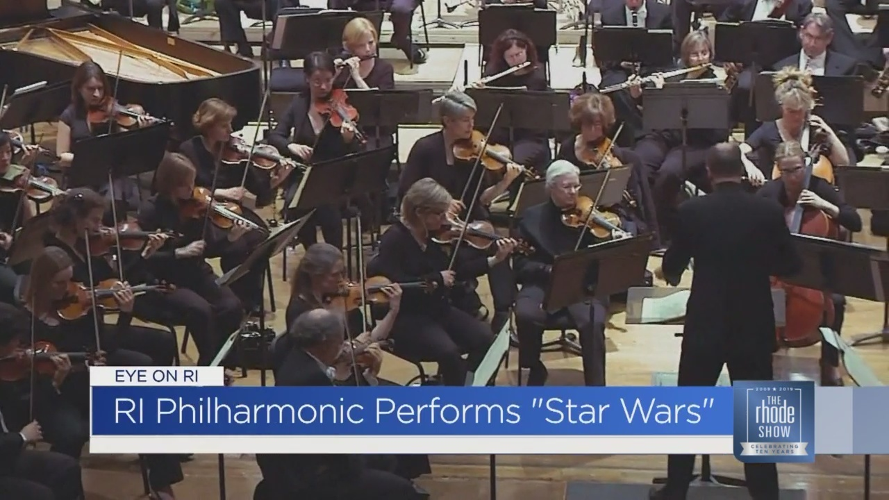 Eye on RI: Catch 'Star Wars Live' with an orchestra!