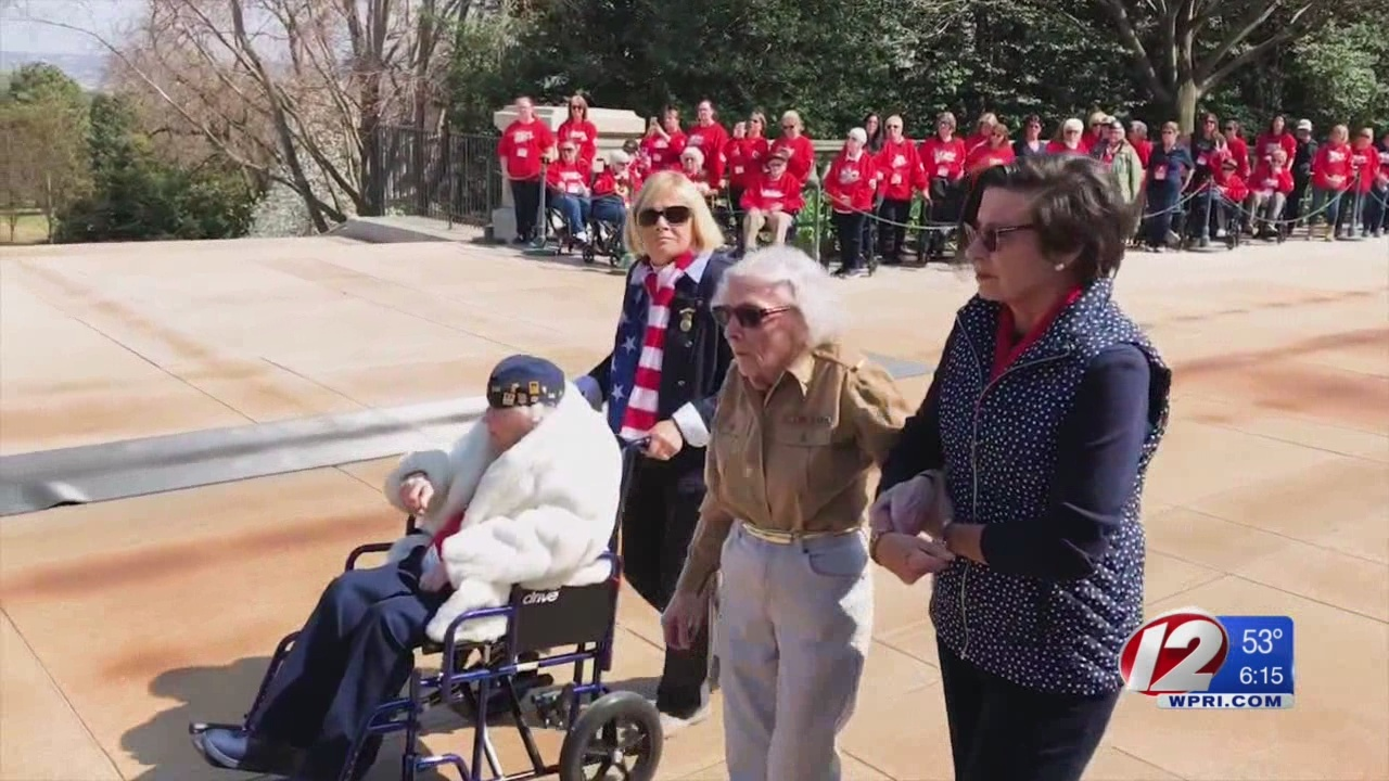RI's first all-female Honor Flight pays tribute to 44 local veterans