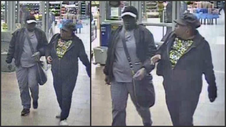 Cranston Walmart larceny suspects
