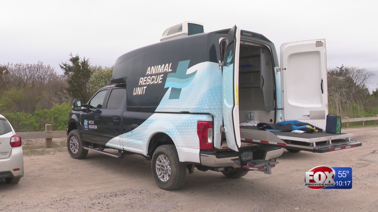 Mystic Aquarium team trains with new off-road response vehicle