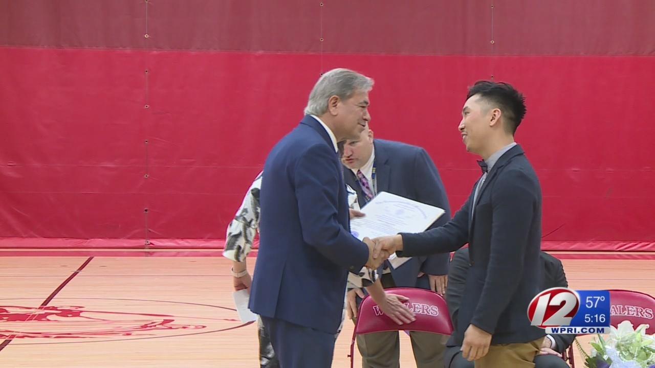 New Bedford teacher honored as Massachusetts' best of the year