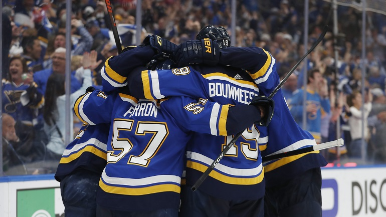 St  Louis Blues advance to Stanley Cup Final, will play Bruins