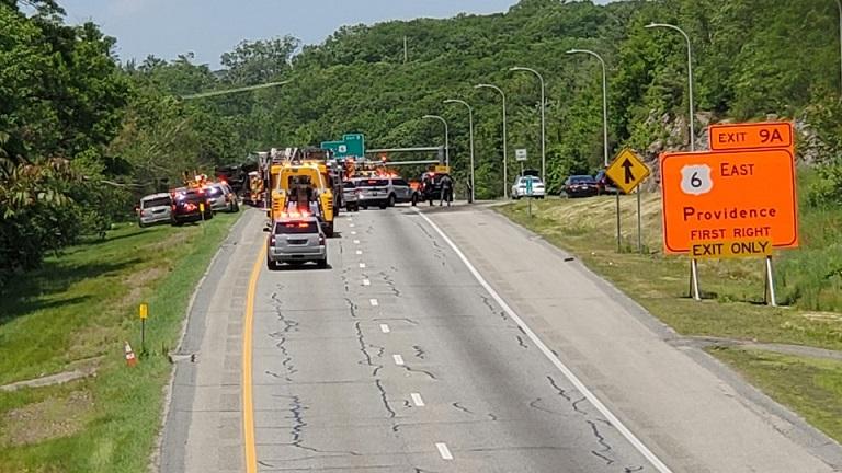 I-295 Johnston crash