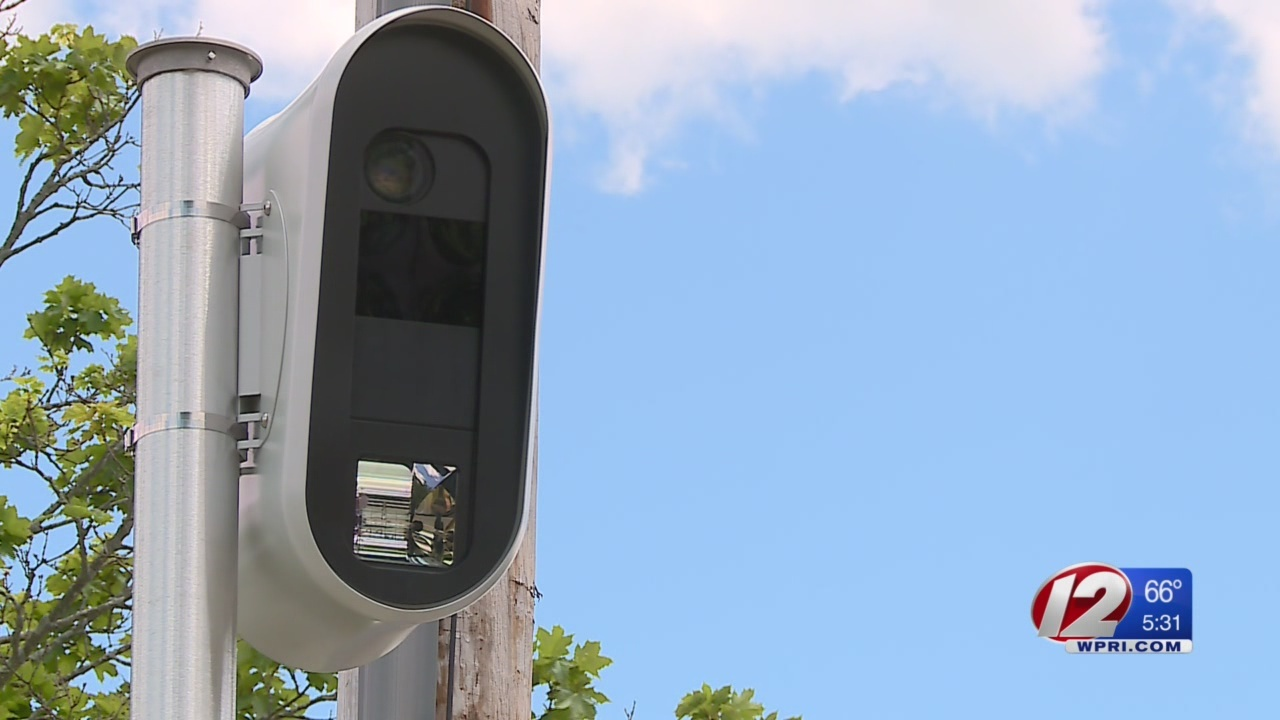 Speed, red light cameras installed across Pawtucket