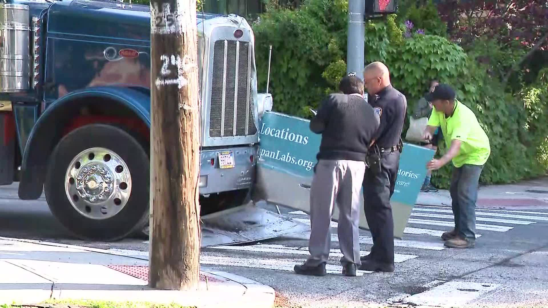 RIPTA Bus Involved in Crash on Providence's East Side