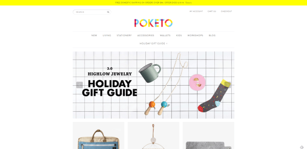 Poketo Art and Design For Your Everyday