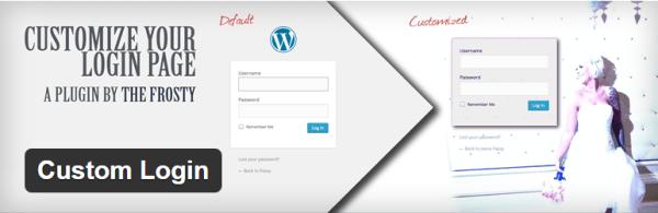 customlogin - best wordpress custom login plugin