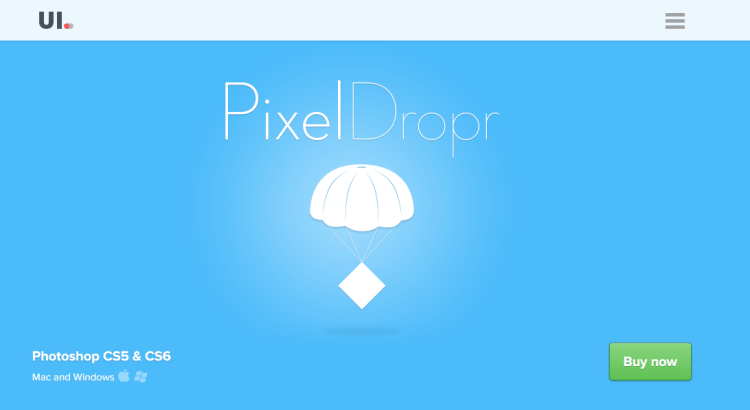 Pixel Dropr   Create and share your own pixel collections within Photoshop