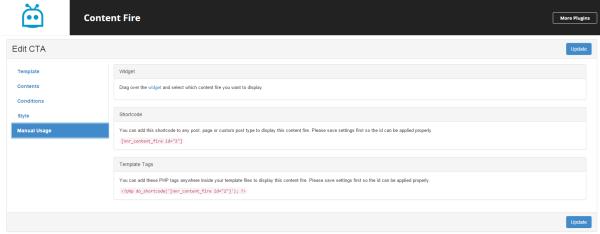 Add New5 ‹ Content Fire — WordPress