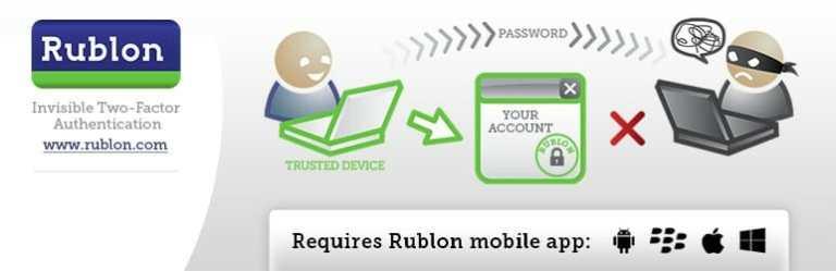rublon - Protecting Wordpress with Rublon