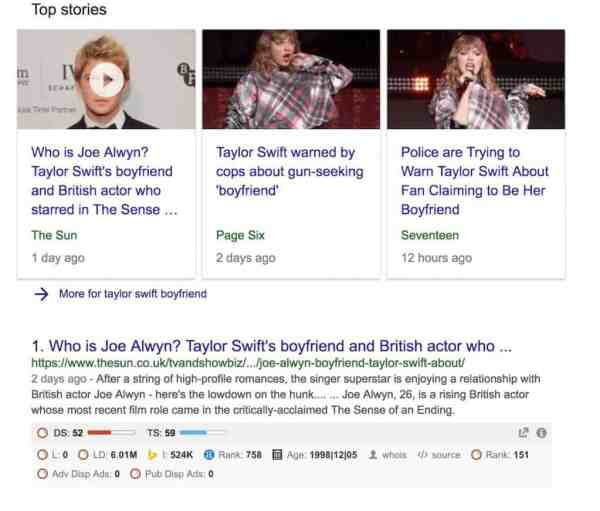 Why you need a Blog Section - Google's Freshness and Taylor Swift