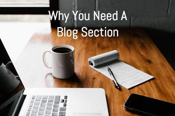 why you need a blog section banner