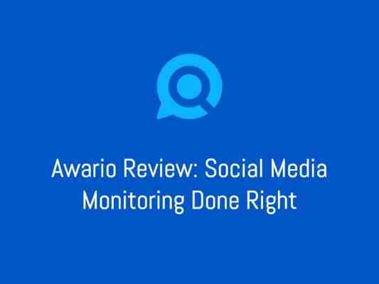 Awario Review