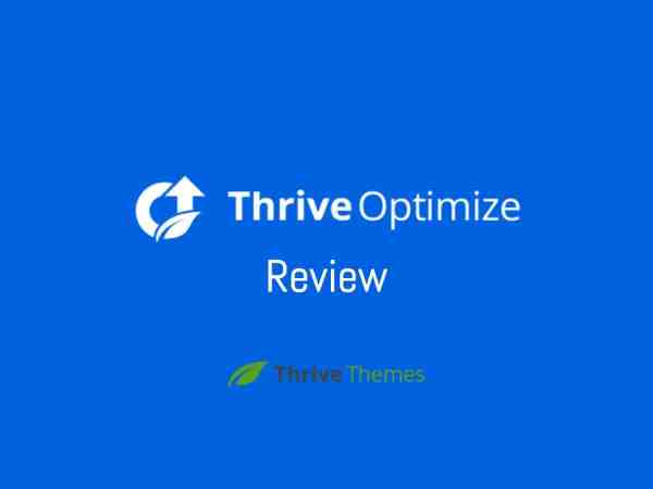 Thrive Optimize Review