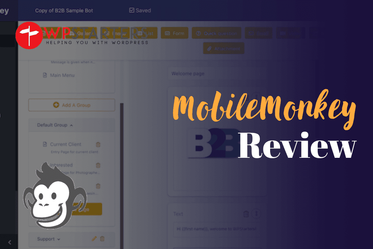MobileMonkey Review: Makes Facebook Marketing Fun & Easy