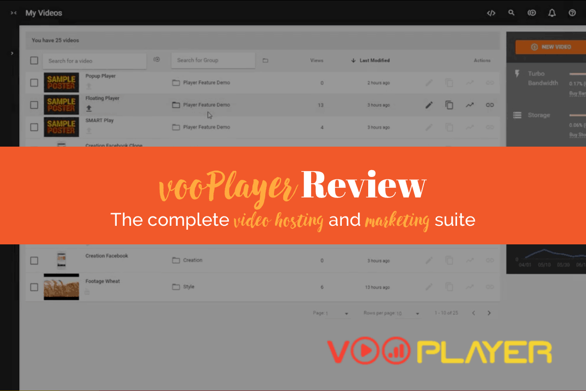 vooPlayer Review: The Best Video Marketing Tool