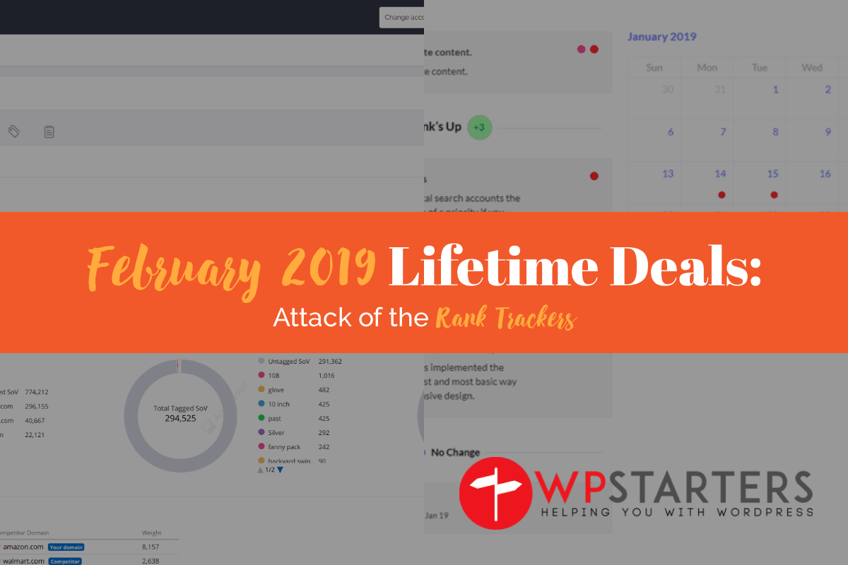 February 2019 Lifetime Deals: Rank Trackers Galore