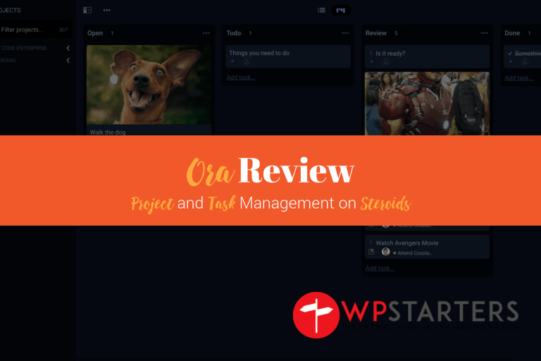 Ora Review - Ora Review: Project Management on Steroids