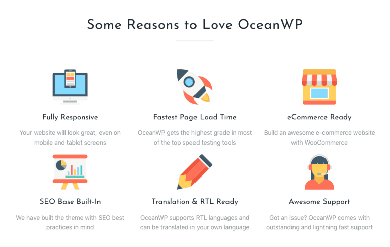 OceanWP Features: Why we love OceanWP