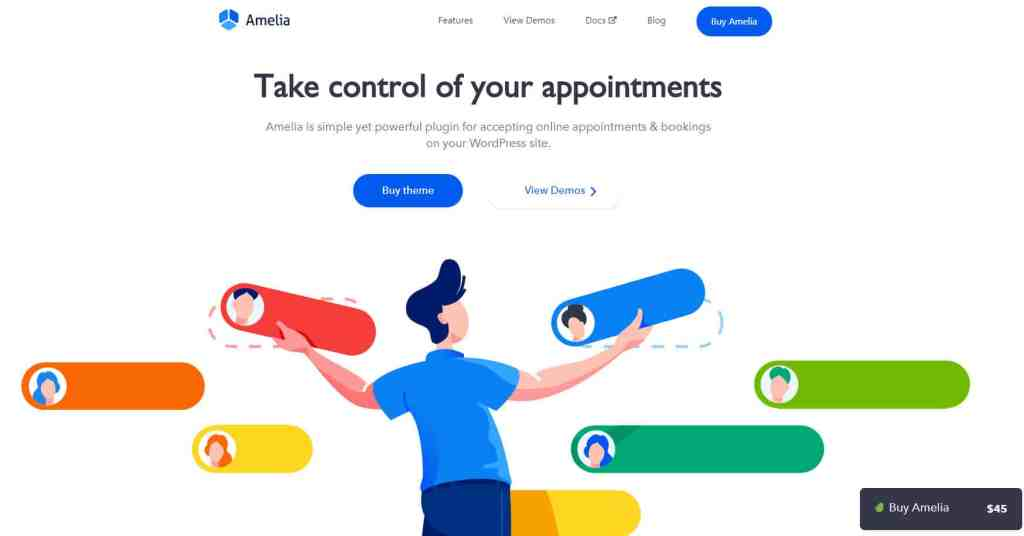 Amelia is the best WordPress Appointment plugin we encountered so far. Grab it now at a discounted price.