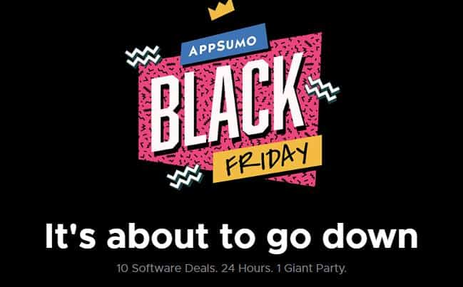 Best AppSumo Black Friday Deals 2019