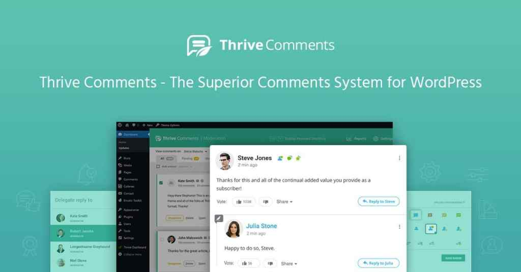 Thrive Comments is the best WordPress comments plugin