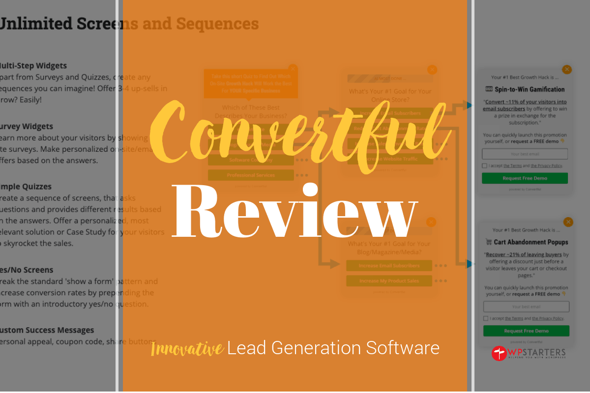 Convertful Review: Amazing Lead Generation Software