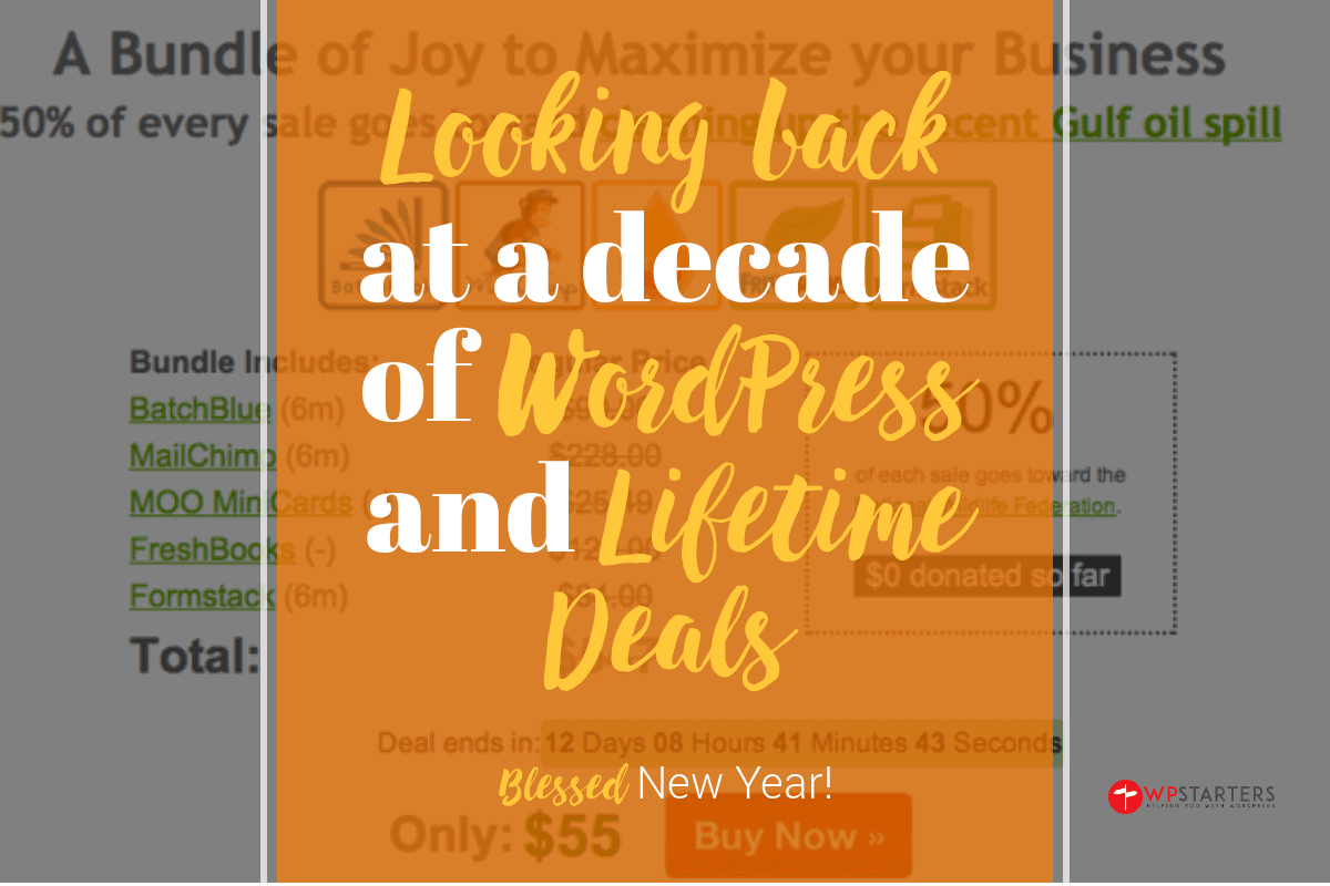 2020: Looking Back at WordPress and Lifetime Deals