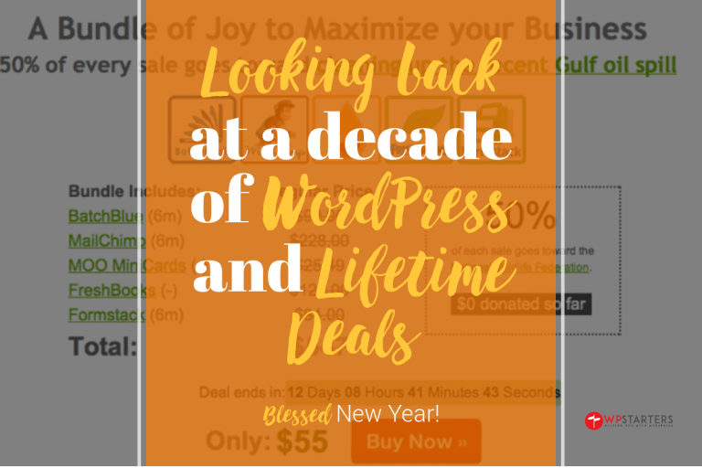 looking back at wordpress and lifetime deals - 2020: Looking Back at WordPress and Lifetime Deals