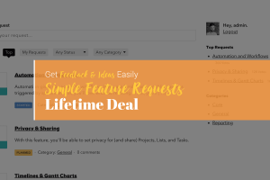 simple feature requests lifetime deal