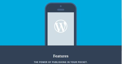 WordPress-Mobile-Apps - The Power of Publishing in your pocket
