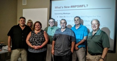 WordPress Meetup SWFL Meeting June 2015