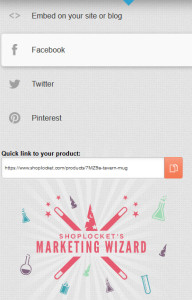 ShopLocket Marketing Wizard