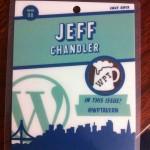 WordCamp San Francisco Badge