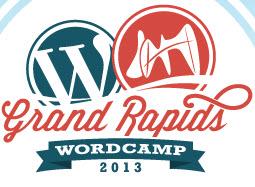 WordCamp Grand Rapids 2013 Logo