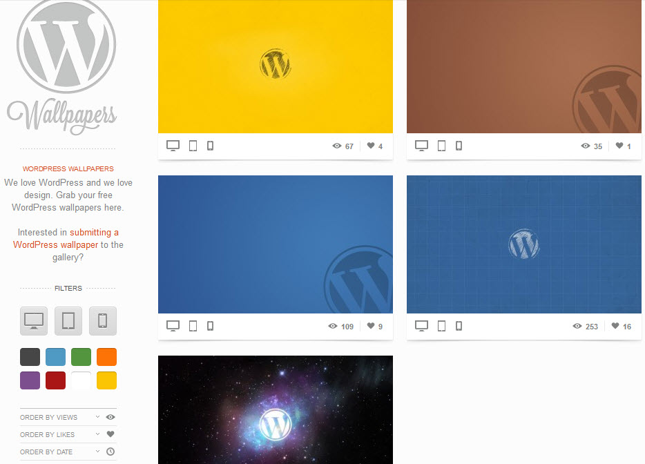 The Full Story Behind WP-Wallpaper – WordPress Tavern