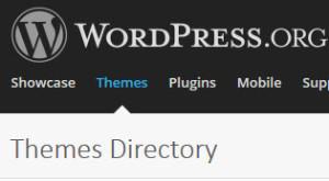 WordPress Theme Directory