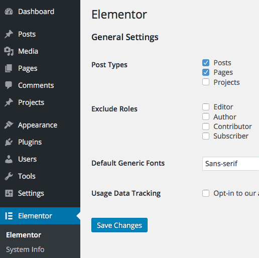 elementor-settings