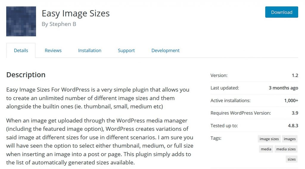 easy-image-sizes