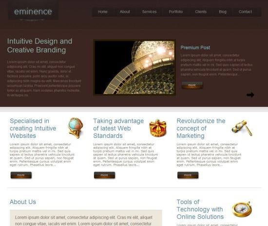 eminence-wordpress-theme