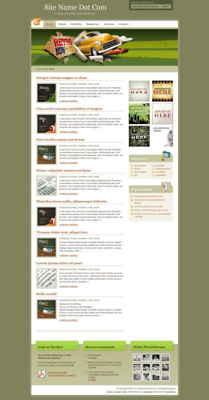 tealgray-wordpress-theme