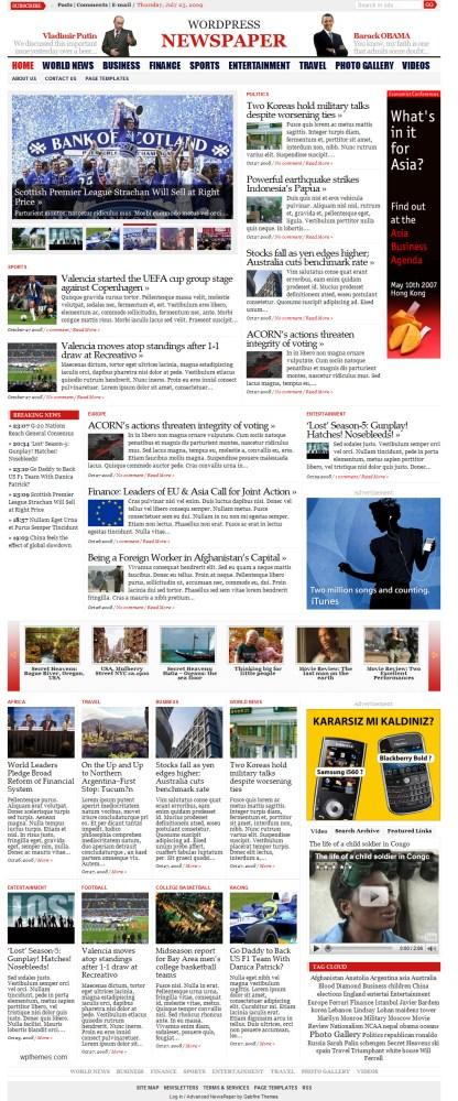 wordpress-newspaper-gabfire